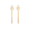 Alice Earrings - Gold