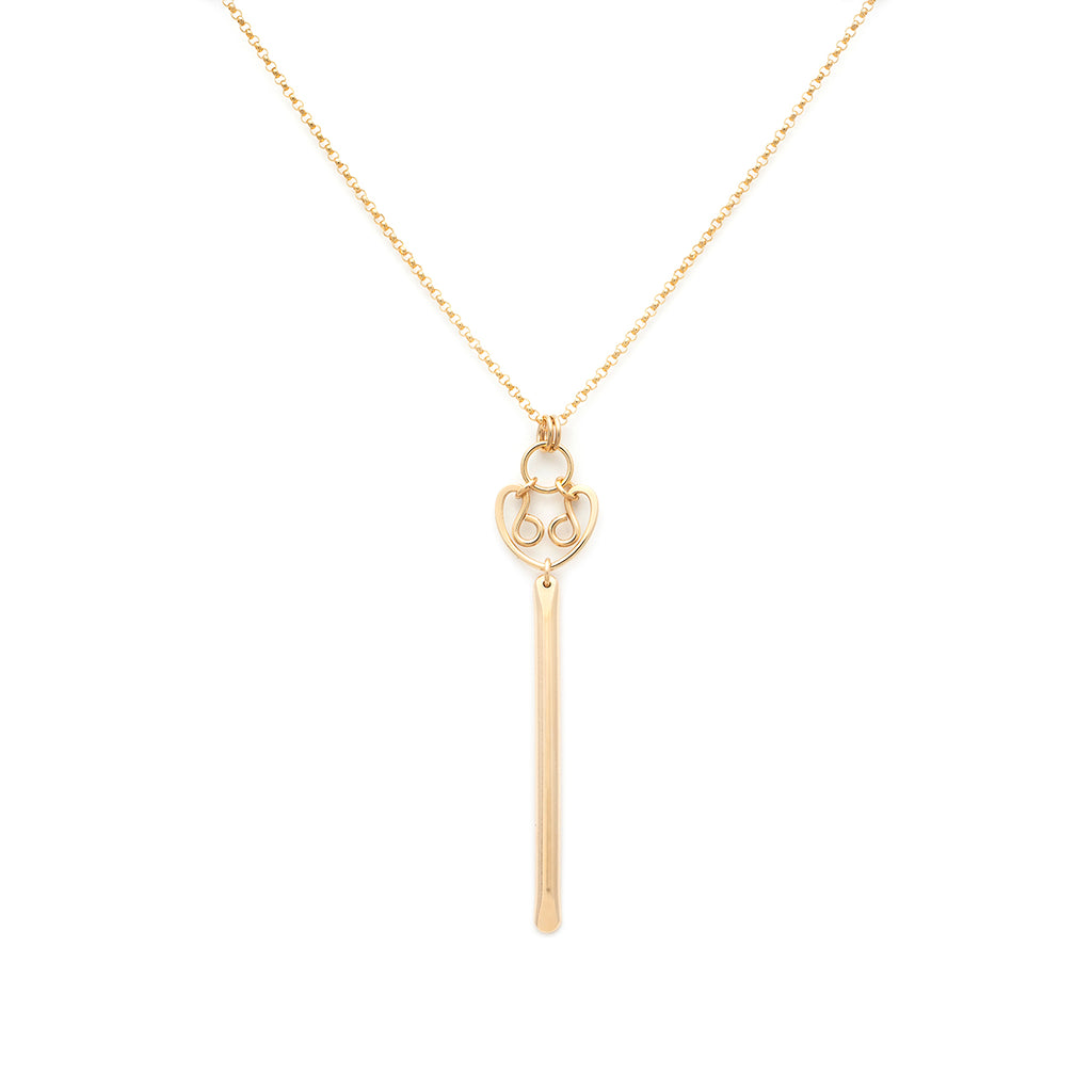 Long Alice Necklace - Gold
