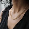 Arabesque Necklace - Gold