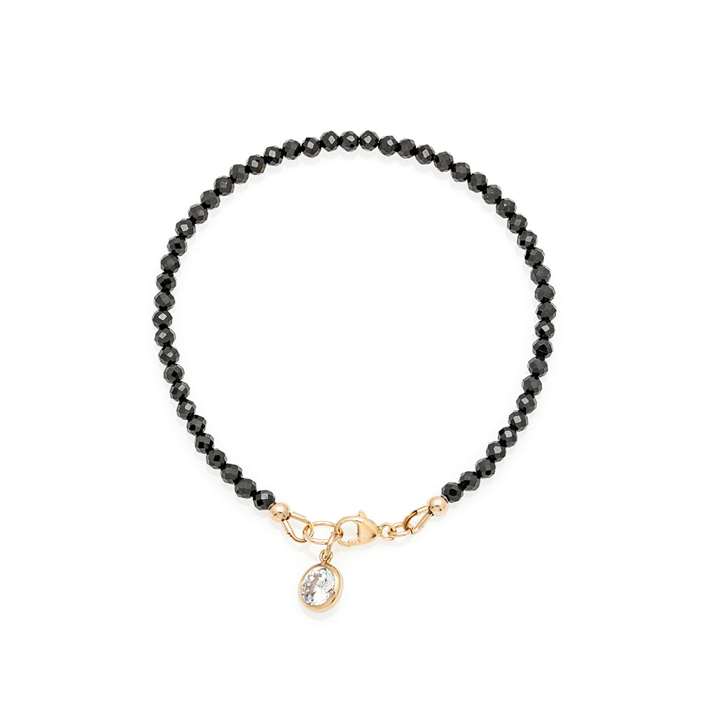 Loft Bracelet - Gold with Black Onyx