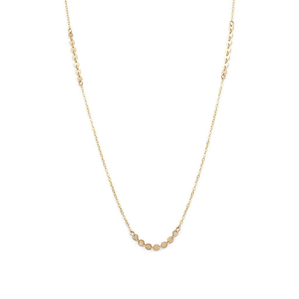 Coin Chain Necklace - Gold