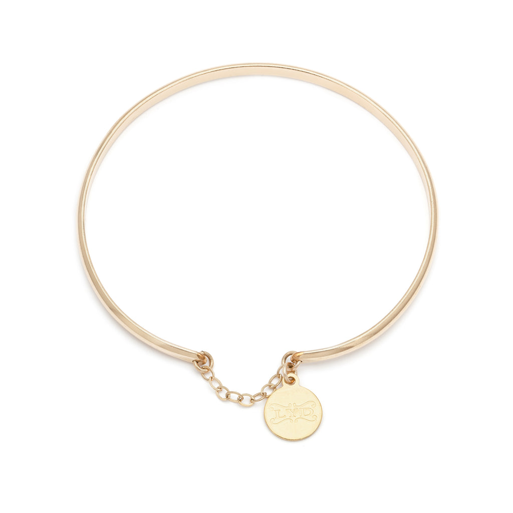 Glamour Bangle - Gold