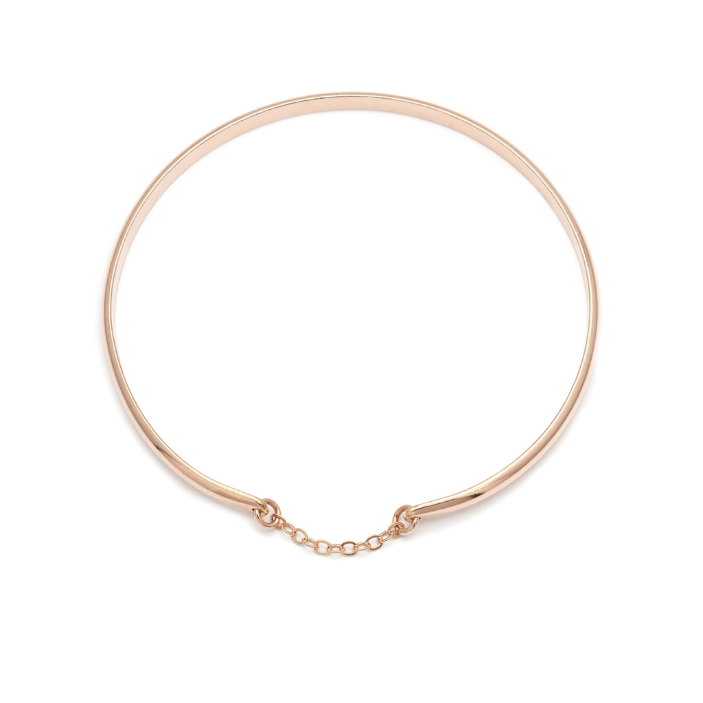 Glamour Bangle - Rose Gold
