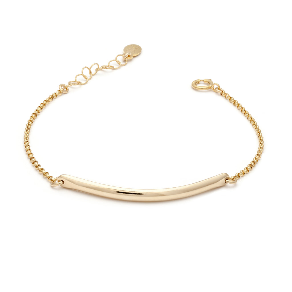Glamour Bar Bracelet - Gold