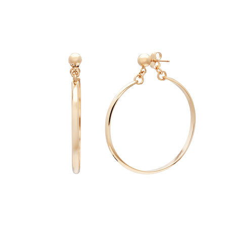 Glamour Hoops - Gold