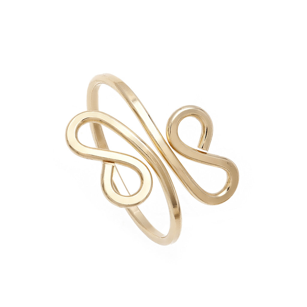Filigree Midi Ring - Gold