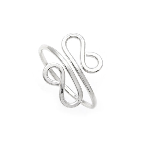 Filigree Midi Ring - Sterling Silver