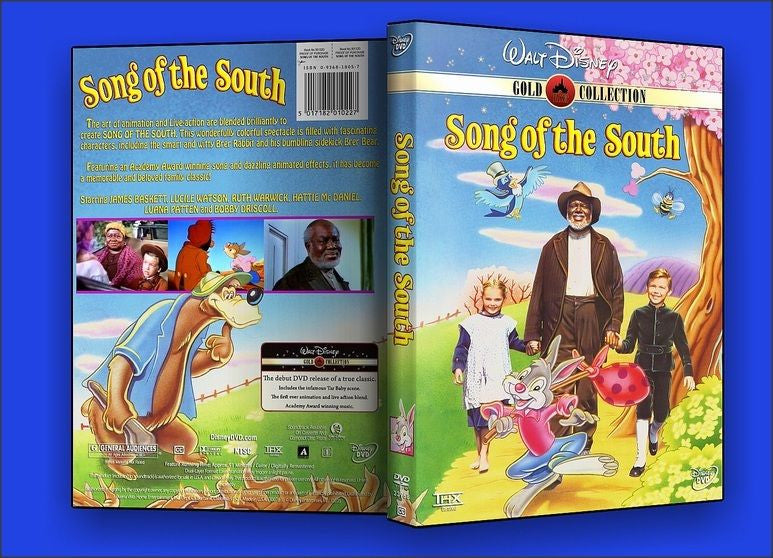 song of the south dvd 1946 digitally remastered high quality region
