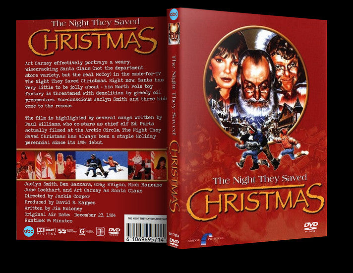 the night they saved christmas dvd region 1 jaclyn smith art carney - The Night They Saved Christmas Dvd