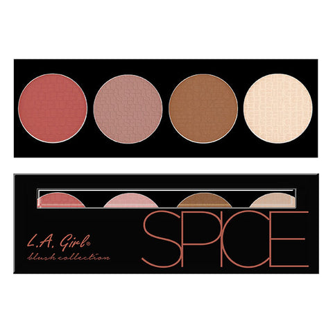 L.A. GIRL BEAUTY BRICK BLUSH COLLECTION- SPICE