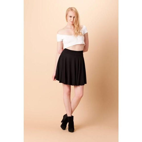 Trinitee - Black Tulip Skirt - TraceysTreasurez