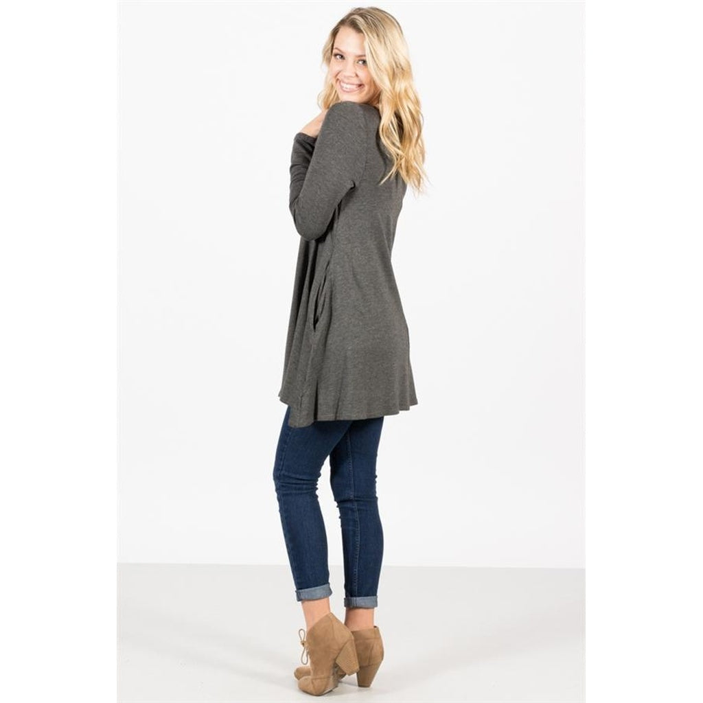 Soft French Terry Tunic with pockets
