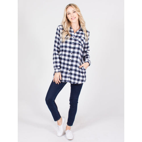 Plaid Pocket Tunic