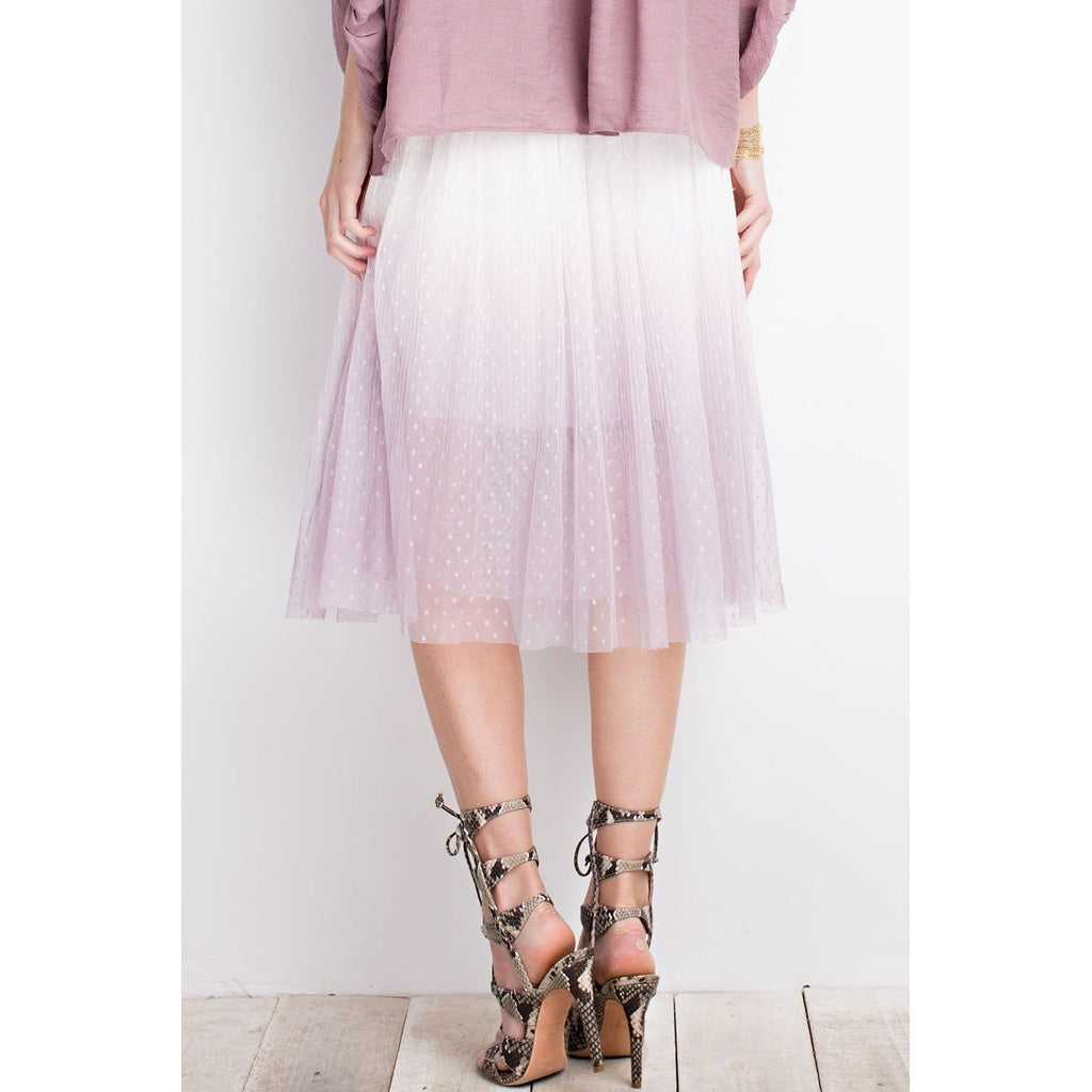 Dottie Ombre Skirt