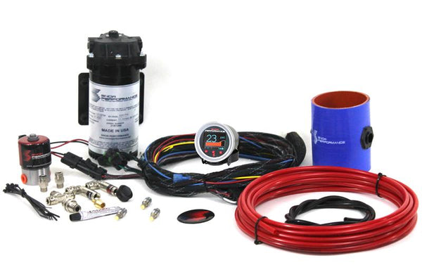 SNOW PERFORMANCE DIESEL STAGE 2 BOOST COOLER WATER-METHANOL INJECTION KIT FORD 7.3/6.0/6.4/6.7 POWERSTROKE