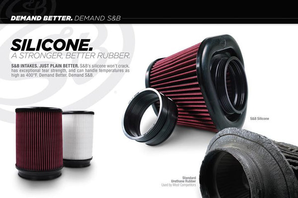 S&B Filters 75-5070 Cold Air Intake (Cleanable Filter) 03-07 6.0L