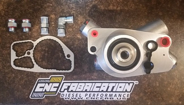 CNC FABRICATION 7.3L STAGE 2 HIGH PRESSURE OIL PUMP
