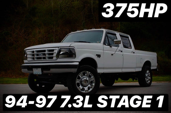 Stage 1 Package 375HP 94-97 7.3L
