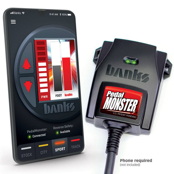 Banks Power Pedal Monster Kit 11-21 6.7L Use W/ iPhone