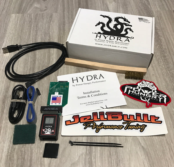 Hydra Chip With JeliBuilt Custom Tunes - Modified Injectors