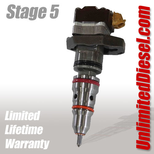 Unlimited Diesel Stage 5 Powerstroke Fuel Injectors
