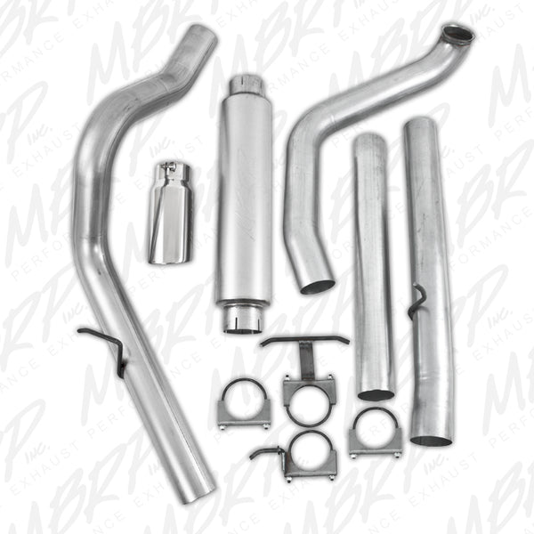 "MBRP 4"" Installer Series Turbo-Back Exhaust (W/Muffler & Tip) 99-03"