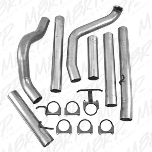 "MBRP 4"" PLM Series Turbo-Back Exhaust System (No Muffler) 99-03"