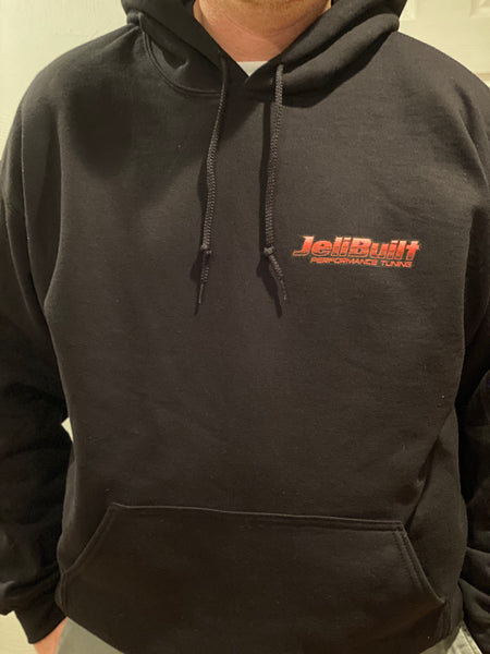 JeliBuilt Hoodies - 3D Graph