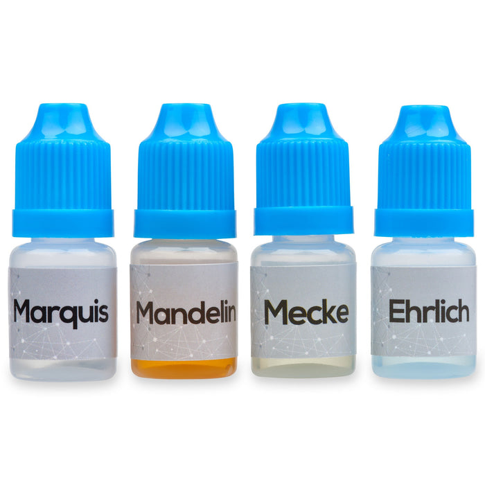 Marquis Mandelin Mecke And Ehrlich Reagent Test Kit