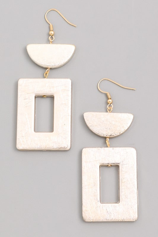 Geometric Light Earrings