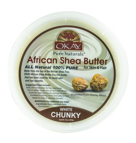 OKAY Shea Butter White Chunk