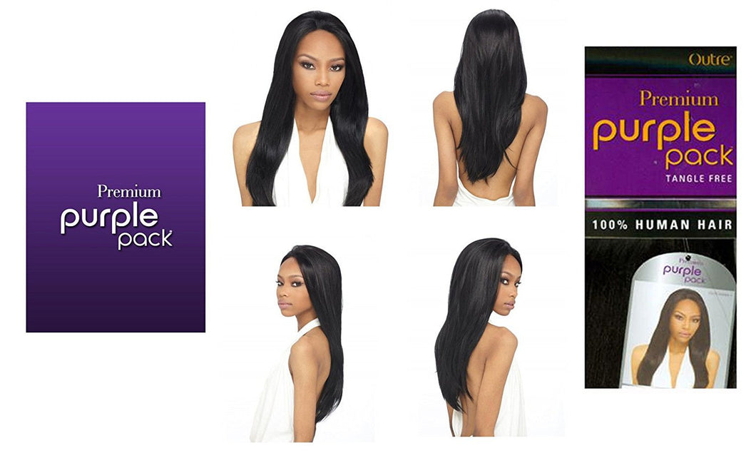 Outre Purple Pack Premium Human Hair