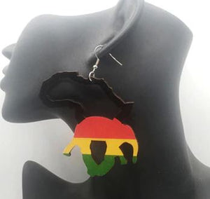 """Africa Africa""  Earrings"