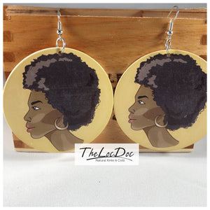 """Hold Your Head High"" Earrings"