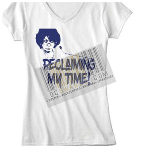 """Reclaiming My Time"" tee"