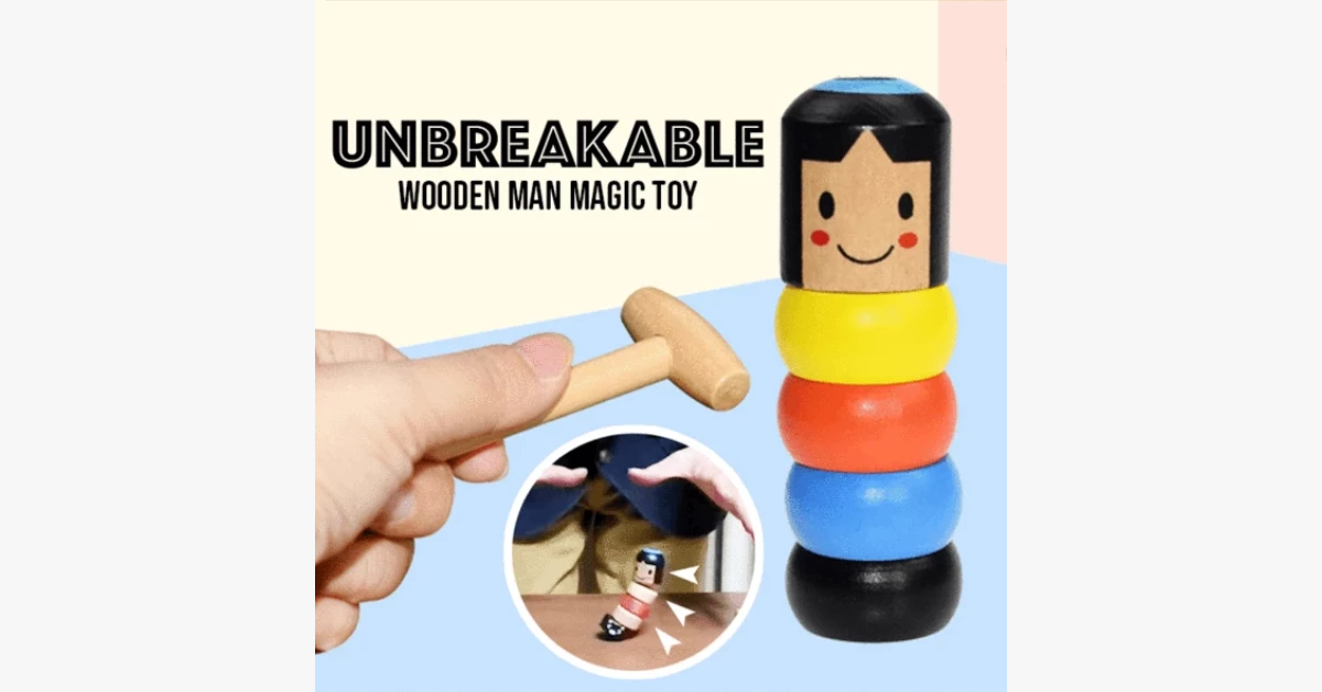 Sturdy Steve Wooden Toy