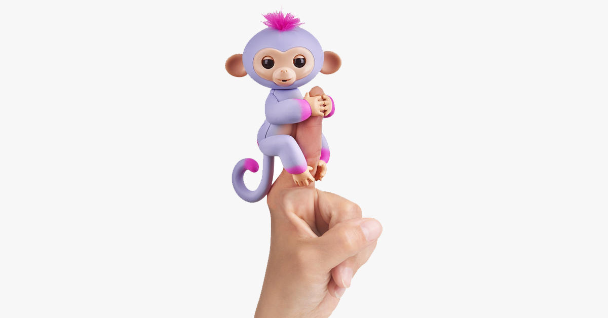 Baby Finger Inductive Monkey Toy