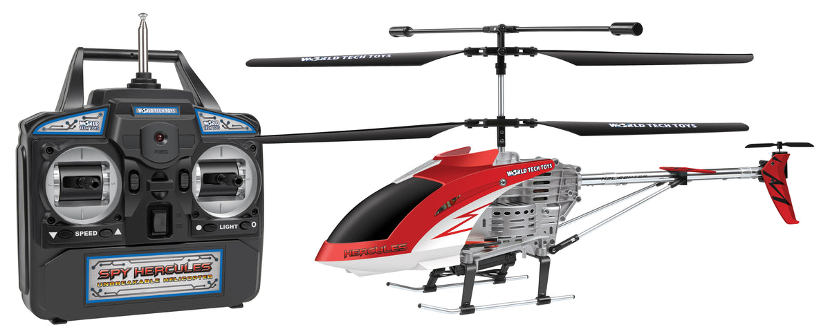 Spy Hercules Camera Unbreakable 3.5CH RC Helicopter (Color May Vary)