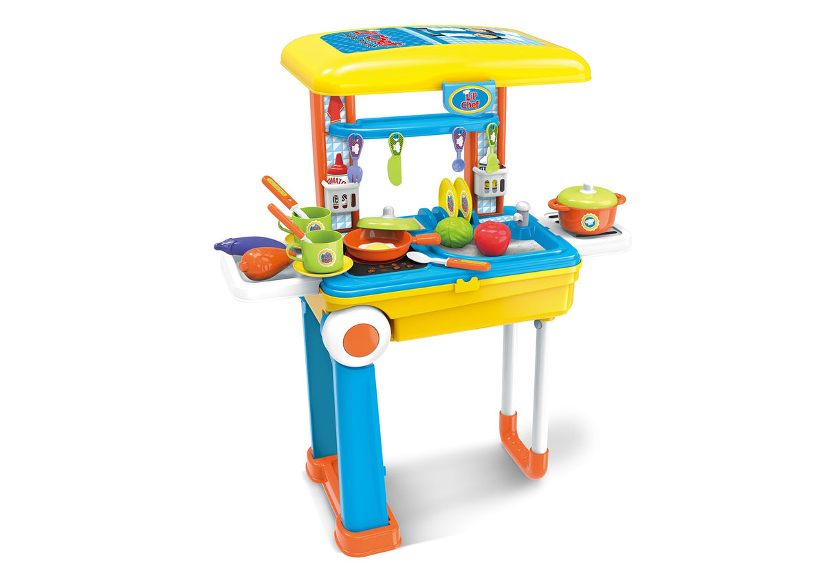 Lil Chef Boys Mobile Suitcase Playset