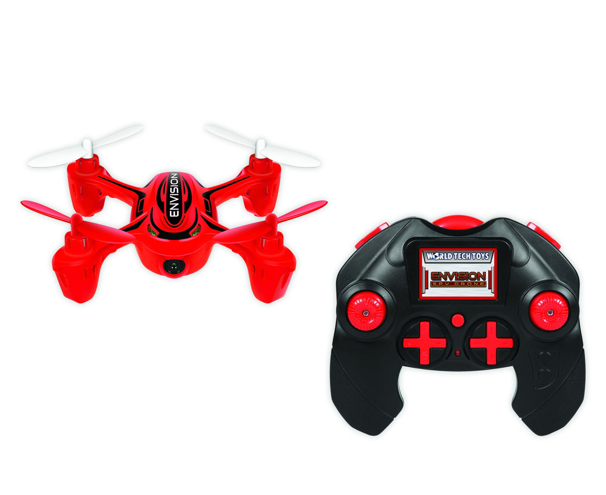 Envision 2.4GHz 4.5CH RC Spy Drone (Colors May Vary)