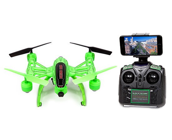 Mini Orion Glow-in-the-Dark 2.4GHz 4.5CH Live Feed Camera RC Drone