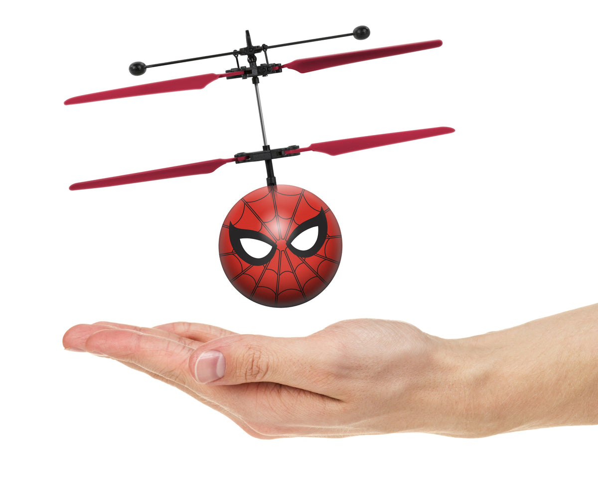 Marvel Spider-Man IR UFO Ball Helicopter