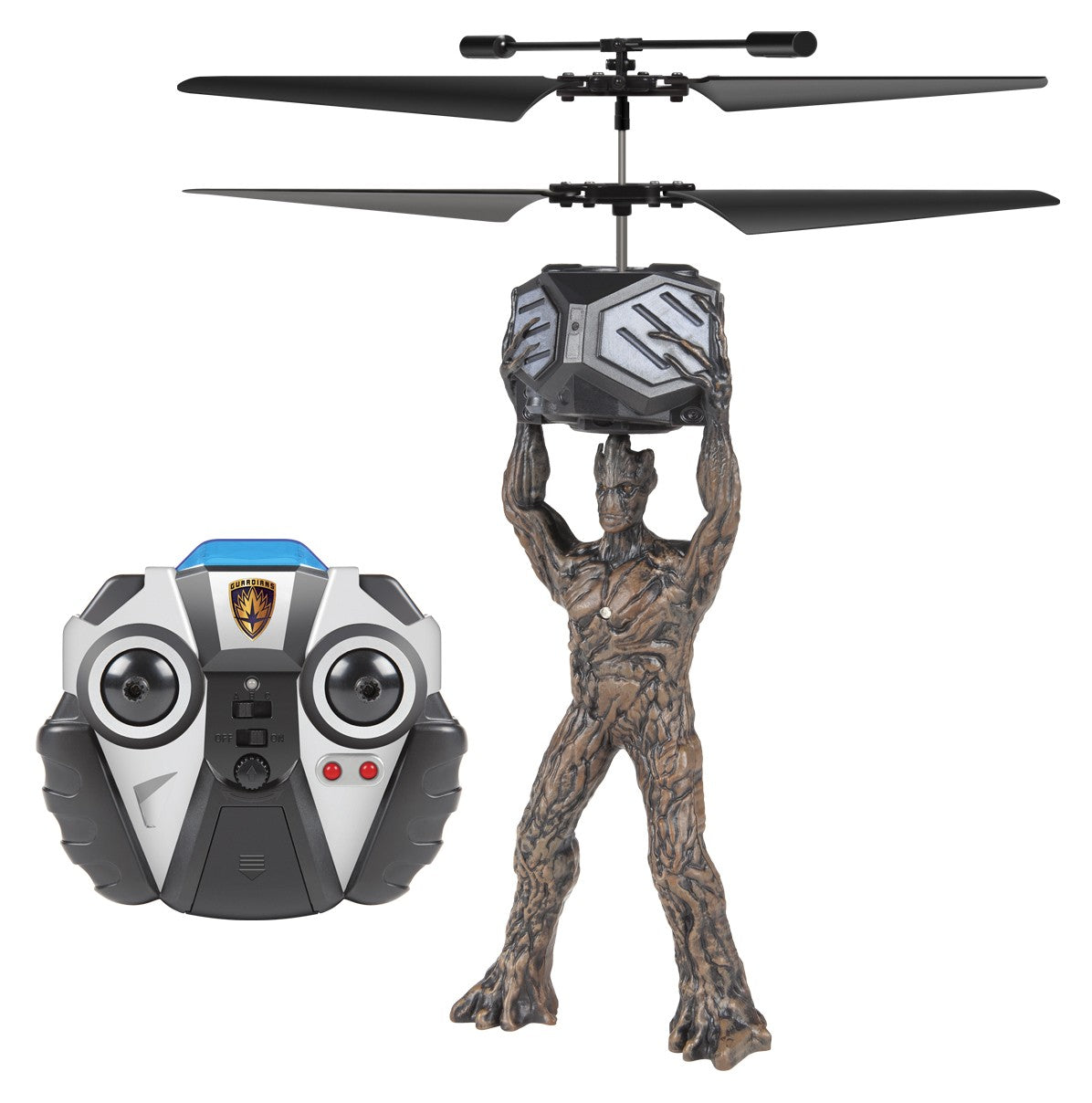Marvel Licensed Guardians Of The Galaxy Groot 2CH IR RC Helicopter