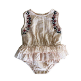 Bella and Lace Pudding Romper
