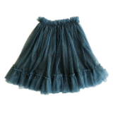 Bella and Lace Carrie Tutu Skirt - Vintage Denim Star Dust