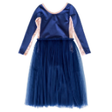 Bella and Lace Winter Debbie Dress - Blue