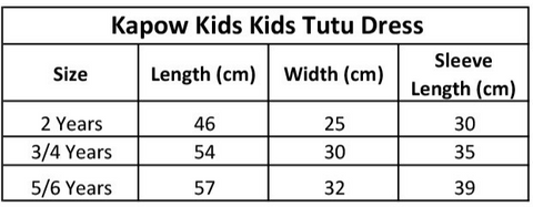 kapow-kids-tutu-dress-size-chart