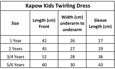 kapow-kids-twirling-dress-size-chart