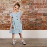 Minti Dome Chambray Dress