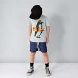 Minti Ready to Roll Penguin T-Shirt